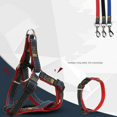 Dogs Collars Cat Lead Harness Leash Traction Rope Accessories Nylon Pet Supplies