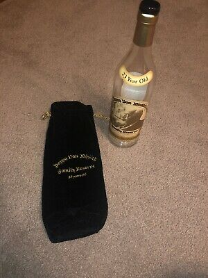 Pappy Van Winkle's Family Reserve 23 Years Old EMPTY Bottle with Velvet Bag