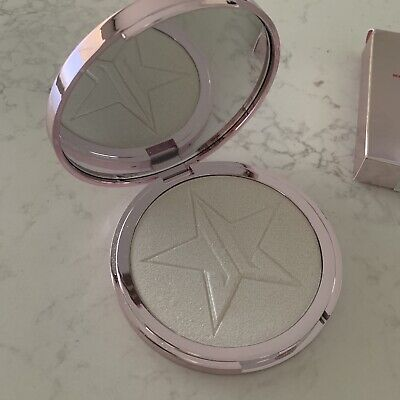 """Jeffree Star- SKIN FROST highlighter """"Crystal ball"""" Swatched Only"""