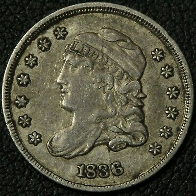 1836 Capped Bust Silver Half Dime