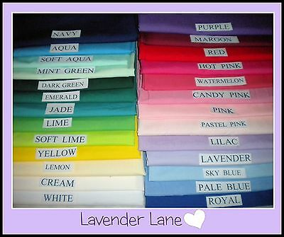 Toddler Pillowcases - New - Made To Measure - 23 Colours - Free Postage - $7