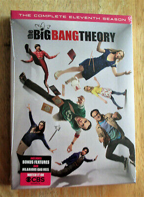 The Big Bang Theory - The Complete Eleventh Season DVD Set - BRAND NEW