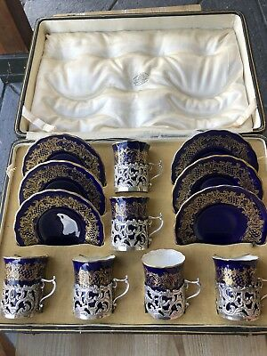 Antique Sterling Silver Coffee Set
