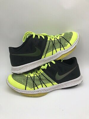 cheap for discount 830ee a0f38 Mens Nike Shoes Zoom Trainers 844803 Neon Green Size 11.5 US