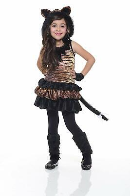 85346aedcef8 Tigress Wild Cat Tiger Animal Girl Fancy Dress Up Halloween Child Costume