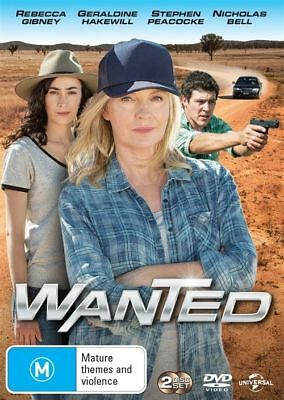 Wanted : Season 1 (DVD, 2016, 2-Disc Set)