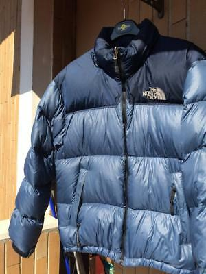 THE NORTH FACE Man Jacket Size M Giacca Blue Piumino Uomo - EUR 149 ... 0adfb4b034df
