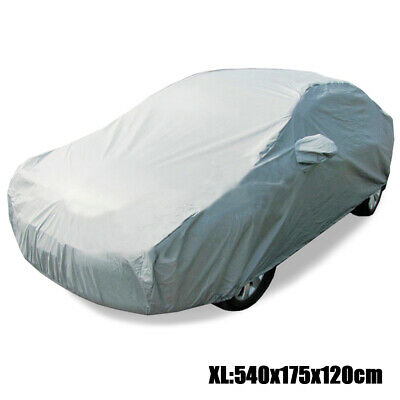 Universal Sun UV Resistant Full Car Cover Anti-Scratch Dust Protection Size XL