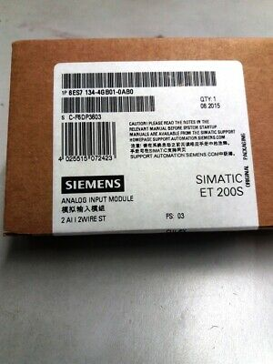 **NEW** Siemens 6ES7134-4GB01-0AB0 , SIMATIC DP, Electronics module f. ET200S