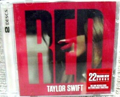 Taylor Swift - Red Limited Edition Deluxe 2 X Cd Album 2012