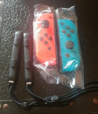 Nintendo Joy-Con (L/R) Wireless Controllers for Nintendo Switch - Red/Blue NEW!