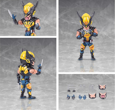 Japan Anime Figure Toy The Avengers  Wolverine PVC doll no box 18cm