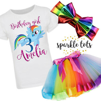 rainbow dash birthday outfit, my little pony tutu set, rainbow dash tutu outfit