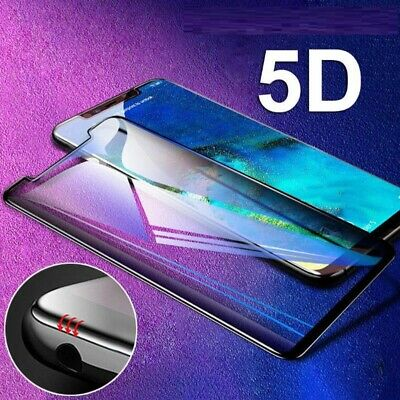 For Huawei P Smart 2018 Full Screen Protector 5D Curved Tempered Glass Film