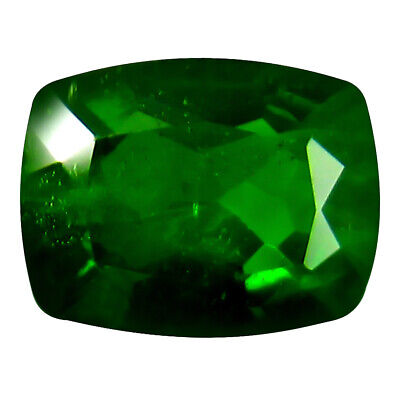 1.28 ct MAGNIFICENT GEM ! STUNNING FIRE 100% NATURAL RUSSIAN CHROME DIOPSIDE