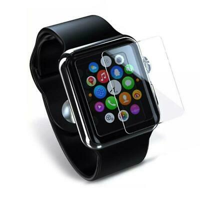 9H Tempered Glass Screen Protector TPU Case For Apple Watch Series 4 40mm 44mm.