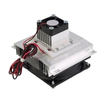 Thermoelectric Peltier Refrigeration Cooling System Kit Cooler Fan Power 60W