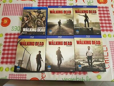 The Walking Dead - Stagioni 1-6 (25 Blu-Ray) in Italiano