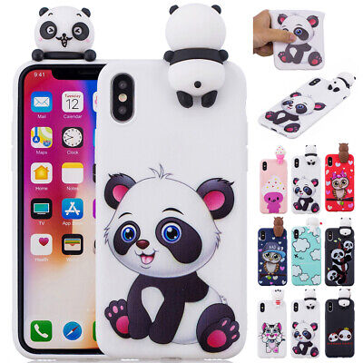For iPhone 6s Plus 7 8 Plus Case Cute Kids Shockproof Soft Silicone Thin Cover