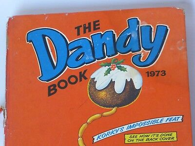 Dandy Annual 1973 plus Beano, Bash Street Kids, Topper & Oor Willie Annuals