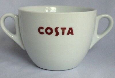 Costa Coffee Large Massimo Cup With Double Handle, Great Gift