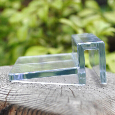 4PCS Acrylic Aquarium Fish Tank Glass Cover Clip Support Holder(12MM)