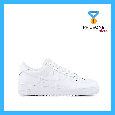 Nike Air Force One '07 Total White Bianco Shoes Scarpe Mens Uomo Donna 315122-11