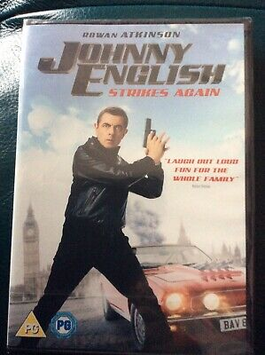 Johnny English Strikes Again - DVD New 2019 Actual DVD Not A Copy