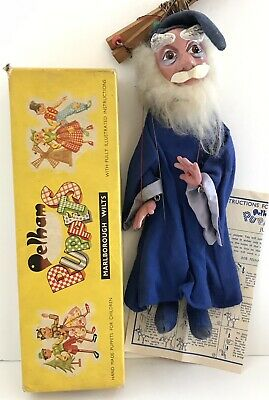 Disney Sword In The Stone Pelham Puppet Merlin 1963 Excellent Boxed