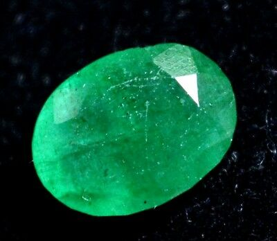 3.35 Ct Certified Natural Colombian Excellence Green Emerald Gemstone
