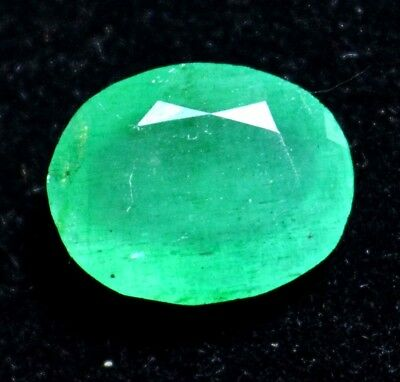 3.00 Ct Certified Natural Colombian Excellence Green Emerald Gemstone