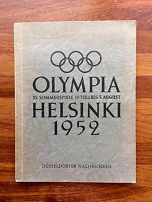 Álbum Olympia 1952 Picture Helsinki 1952 Germany From Manfred Schotten Complet