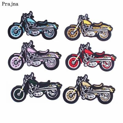 Biker Patches Motorcycle Embroidery Iron On Patch For Clothing Punk Sew Cloth DI