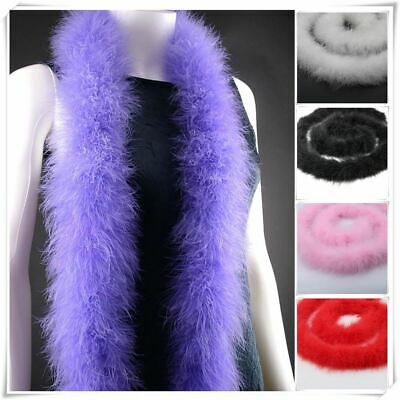 long fluffy feather boa super quality dyed boa 48-50g 2meters