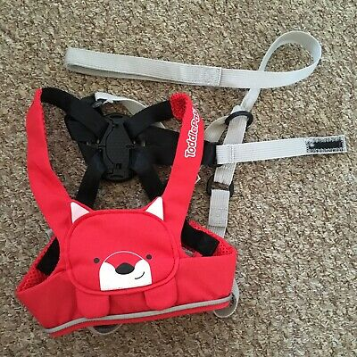 Trunki ToddlePak Felix Fox Red Toddler Reins/Safety Walking Harness