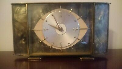Metamec Mantle Clock Art Deco Style