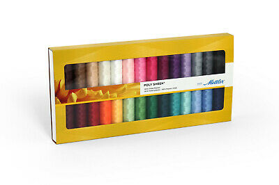 Mettler Poly Sheen 100% Polyester Standard 28 Sewing Thread Embroidery Crafts