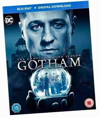 Gotham Season 3 Complete Third Series 3 (Blu-ray) New And Sealed