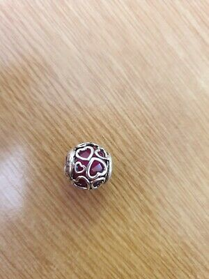 New Genuine Pandora OPENWORK HEART Charm