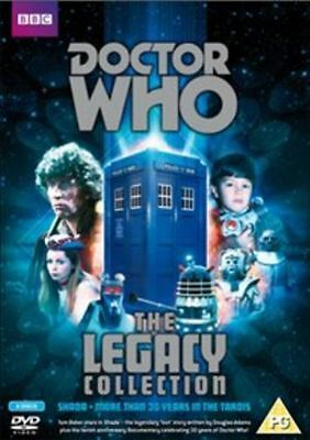 Doctor Who - Legacy (DVD, 2013, 3-Disc Set) New & Sealed