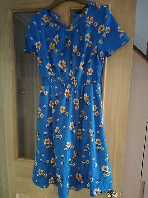 New look maternity dress size 8 floral