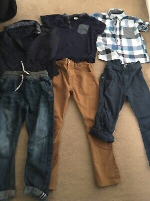 Boys Clothes Bundle Aged 5-6 Years & 6 Years Includes Next, George & F&F