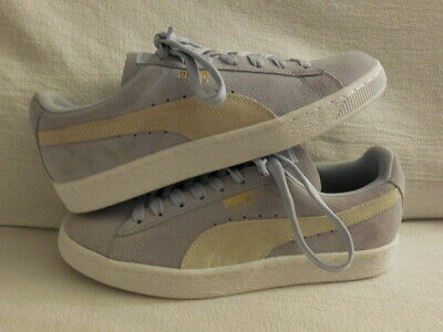 9c4a2422a7c7 Puma Classic Suede Sneakers Women s Size 8--- Halogen blue (DISPLAY)