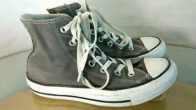 896fe90d69eb66 Converse Chuck Taylor All Star Sneakers High Top Canvas Lace Up Women s Size  6