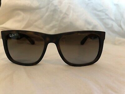 de82b7cd3c Ray-Ban Justin Rb4165 865 t5 54 Tortoise Frame With Brown Polarized  Sunglasses