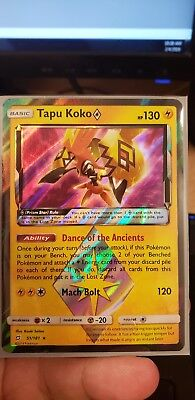Pokemon Tapu Koko Prism Star 51/181 Tag Team Team Up Lost IN-HAND NM!!!