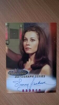 Star Trek Auto TOG Women of Star Trek Sherry Jackson