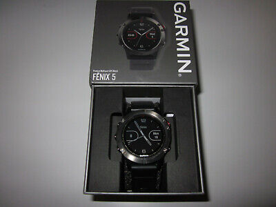 Garmin Fenix 5 Multisport GPS Smartwatch Large 47mm Slate Grey