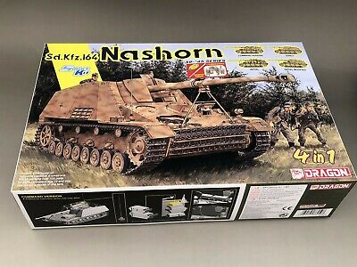 Dragon 1//35 Scale German SdKfz 164 Nashorn 4 in 1 Lower Hull from Kit No 6459