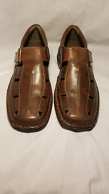 a33fd350e81 Alfani Russell 11.5 M Dark Brown Fisherman Sandals Men s Shoes NEW WITHOUT  TAGS